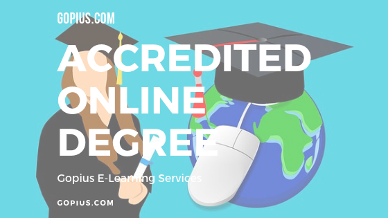 accredited online degree programmes