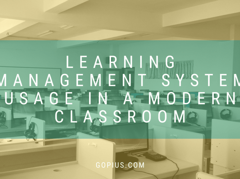 Learning Management System Usage in a Modern Classroom